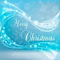 Christmas Card With Snow And Wind. Royalty Free Stock Photos - 112596978