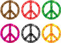 Peace Sign Flower Power Royalty Free Stock Photo - 11273095