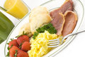 Country Ham And Egg Breakfast Stock Photos - 11275263