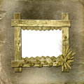 Grunge Frame In Scrapbooking Style Royalty Free Stock Photos - 11277308
