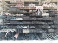 Group Of Steel Profile Storaged In Different Shapes Such Bar,square,tube And Pile Display On Store Royalty Free Stock Photography - 112769687