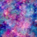 Colourful Galaxy Cosmos Print With Pink Blue And Purple Stock Image - 112881191