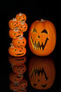 Halloween Jack O Lanterns Stock Image - 11291531