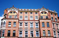 Architecture, The Old Brick House Under Blue Sky Stock Photos - 11303253