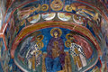 Ceiling Painting In Old Church Royalty Free Stock Photo - 11303915