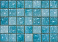 Blue Glass Tiles Stock Images - 11337834