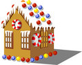 Gingerbread House Color 01 Stock Photo - 11338260