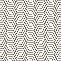 Vector Seamless Pattern. Modern Stylish Abstract Texture. Repeating Geometric Royalty Free Stock Photos - 113381558