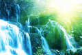 Water Cascade Royalty Free Stock Photo - 11348225