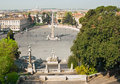 Piazza Del Popolo Royalty Free Stock Photography - 11353687