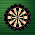 Dart Board Royalty Free Stock Images - 11361989
