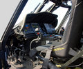 Military Helicopter Cockpit Stock Photography - 11365922