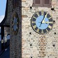 Church Tower With Clock Stock Images - 11389654