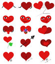 Set Hearts Royalty Free Stock Images - 11389759