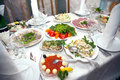 Food At Banquet Table Stock Photos - 11416693