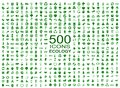 Set Of 500 Ecology Icons - Vector Stock Photography - 114133342
