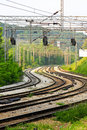 Curved Railroad Stock Images - 11440204