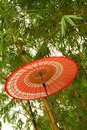 Japanese Red Umbrella Stock Images - 11457284