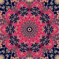 Flower - Mandala. Seamless Vector Pattern In Ethnic Style Royalty Free Stock Image - 114518766