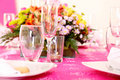Glasses And Flowers Stock Image - 11471931