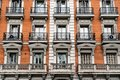 Old Residential Building In Madrid. Royalty Free Stock Image - 114756576