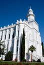 St. George Utah Temple Stock Photography - 11498782