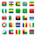 Africa Flag A Royalty Free Stock Photo - 11504015