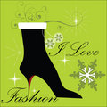 Fashion Winter Boot Royalty Free Stock Image - 11504506