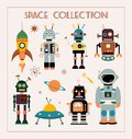 Space Collection With Vintage Elements Royalty Free Stock Images - 115060129