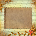 Grunge Paper In Scrapbooking Style Royalty Free Stock Image - 11549256
