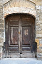 Old Weathered Medieval Style Door Stock Images - 11549304
