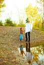 Mother And Son Near The Lake Royalty Free Stock Photo - 11558985