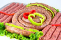 Fresh Beef On Board Ready To Cook Isolated On Whit Royalty Free Stock Image - 11582246