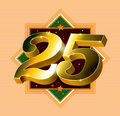 Number 25 Logo Royalty Free Stock Image - 11594776