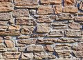Masonry Walls Of The House Made Of Natural Stone. Stock Image - 116026551