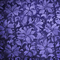 Blue Floral Wallpaper Stock Photos - 11621263