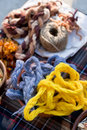 Color Woolen Yarn Royalty Free Stock Images - 11621629