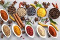 Spices And Herbs. Stock Photography - 116398152