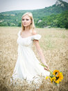 Girl In Field Royalty Free Stock Photo - 11640115