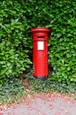 Victorian UK Post Pillar Royalty Free Stock Image - 11643806