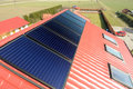 Solar Panels On The Roof. Stock Photography - 11645202