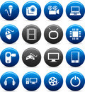Multimedia Icons. Stock Images - 11654684