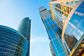 Modern Skyscrapers Towers Perspective View Royalty Free Stock Photography - 11703217