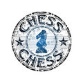 Chess Rubber Stamp Stock Image - 11711461