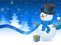 Christmas Snowman Stock Photo - 11732830