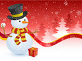 Christmas Snowman Royalty Free Stock Images - 11732839