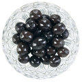 Bowl Of Black Olives. Royalty Free Stock Photography - 11732887