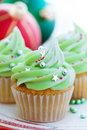 Christmas Cupcakes Stock Images - 11741774