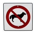 No Dogs Allowed Royalty Free Stock Images - 11749569