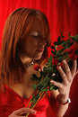 Young Woman With Roses Stock Photos - 11760293
